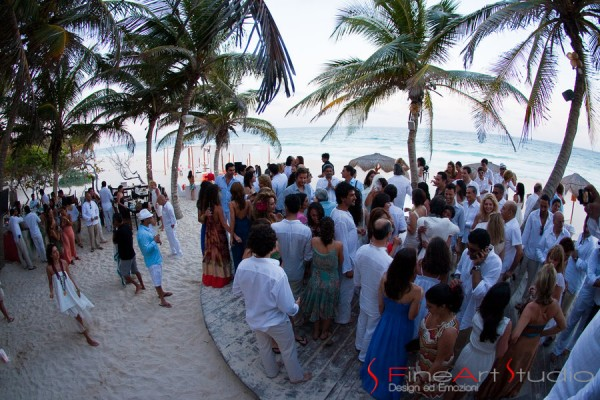 Tulum Wedding party