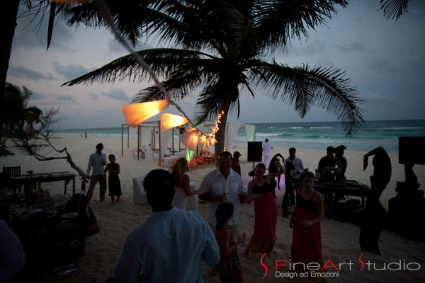 tulum wedding ambiance